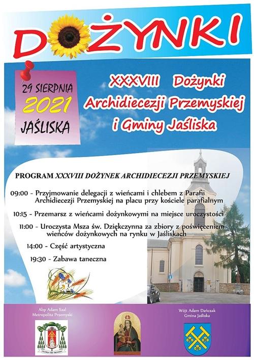 dozynki2021_Jasliska_plakat